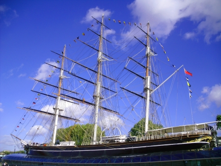 The Cutty Sark, Greenwich, London Stock Photo