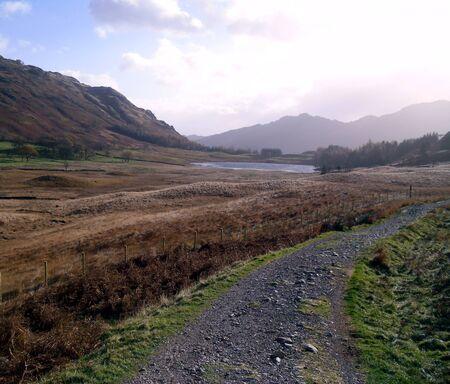 langdale: Path to Blea Tarn