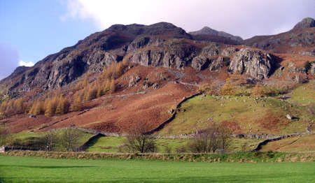 lake district: The Langdales in The English Lake District, Cumbria