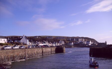 dumfries and galloway: Portpatrick in Dumfries and Galloway, Scotland