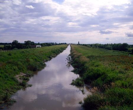 New Bedford River at Welney Nature Reserve in Norfolk