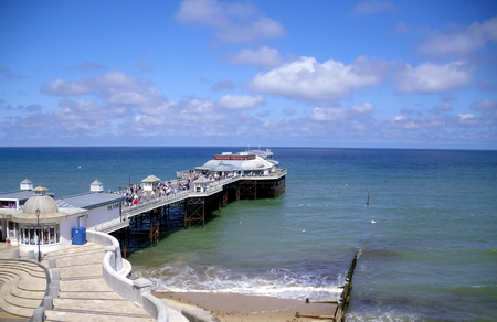 The Pier in Sunshine at Cromer in Norfolk
