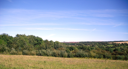 Landscape close to the River Wear at Washington near Sunderland