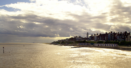 Southwold Town in Suffolk From the Pier