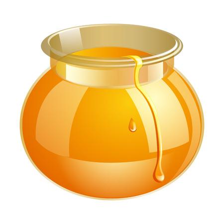 food production: Honey bank vector illustrations. Apiary vector symbol. Bee, honey, honey bank, honeycomb. Honey natural healthy food production. Honey bank isolated. Bee, flowers, beehive and wax. honey bee vector
