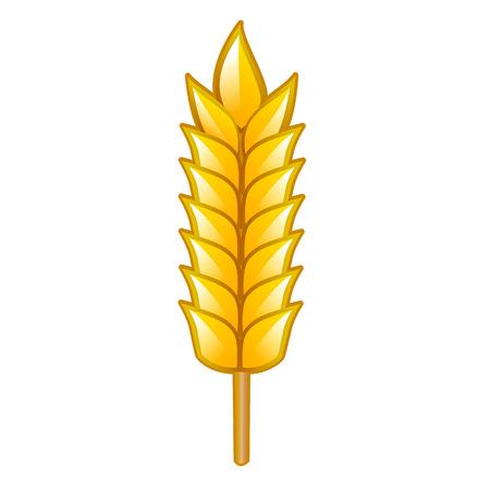 winter wheat: Wheat, vector illustration isolated Illustration