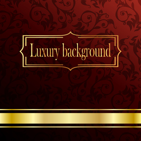 red rug: Red and gold luxury background