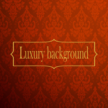 exfoliation: Red and gold luxury background