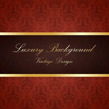 Retro color luxury vintage background. Template for design Illustration
