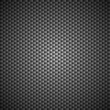 kevlar: Carbon Kevlar Black pattern vector illustration for design
