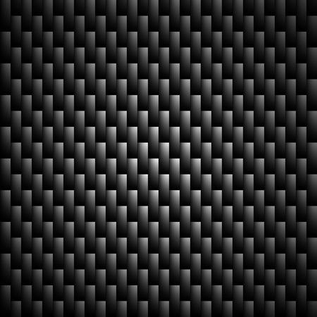 Carbon Kevlar Black pattern vector illustration for design