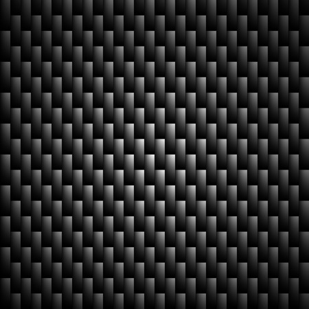 Carbon Kevlar Black pattern vector illustration for design