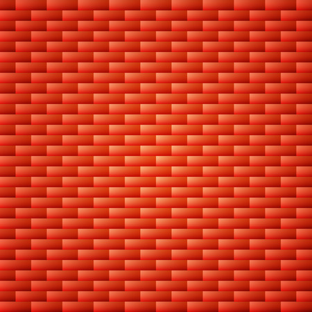rubble: red orange simple brick wall background Template for design