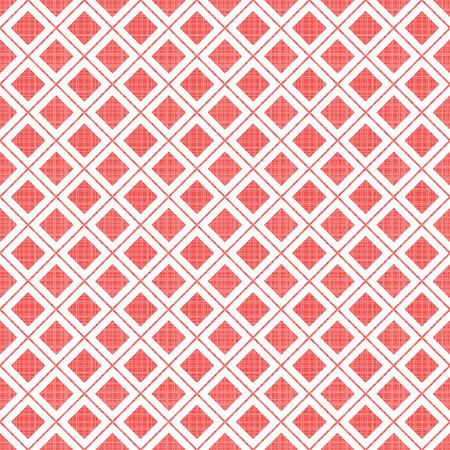 Colored retro geometric seamless pattern with stripes and lines. Template for design.