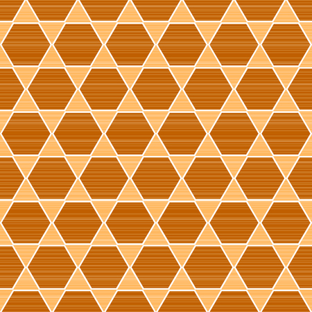 Vector pattern - geometric seamless with fabric lines background