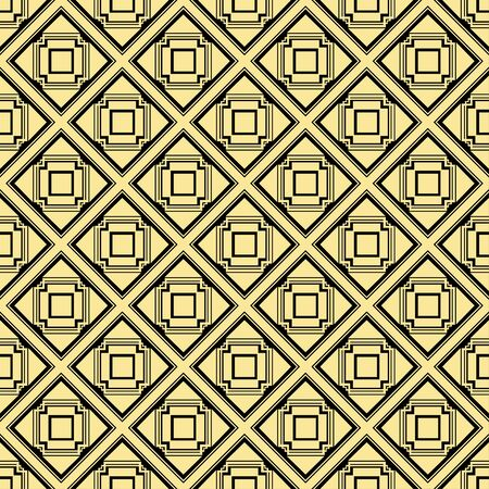 gold textured background: Abstract art deco golden geometric seamless pattern background. Template for design