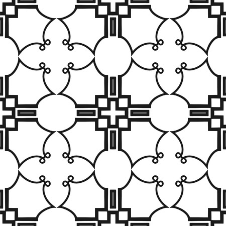 tillable: Vintage style seamless pattern. Vector illustration for wallpaper, fabric, oilcloth, textile, wrapping paper and other design