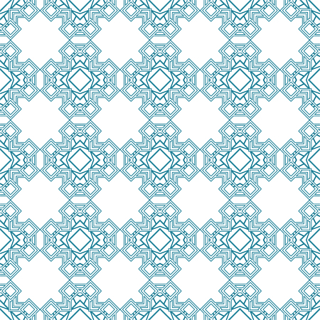 Ornamental art deco seamless pattern.