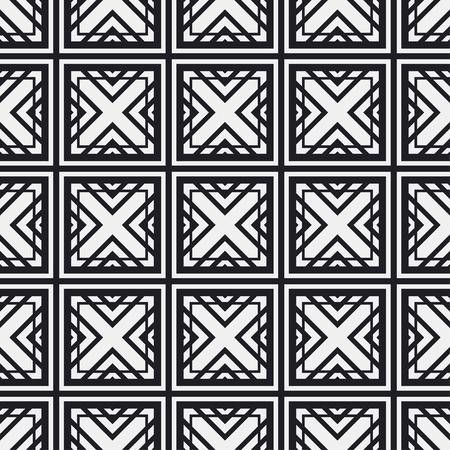 Art Deco Pattern. Seamless background. Geometric design. 1920-30s motifs. Luxury vintage illustration