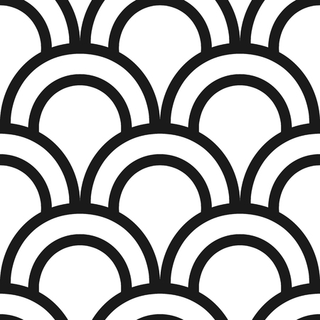 Vintage ornamental art deco retro seamless background and texture. Vector illustration can be used for wrapping paper, wallpapers, tiling, flooring, fabric, textile and other designs.