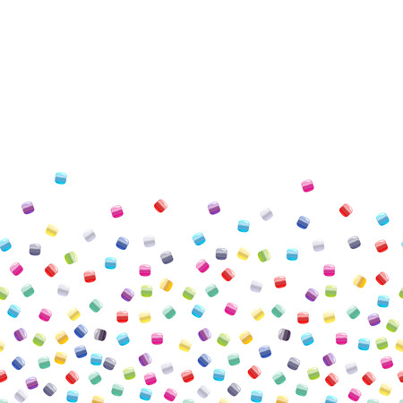 seed beads: Seed bead seamless horizontal background.