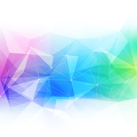 diamond background: Colorful abstract crystal background. Ice or jewel structure. Pink, green and blue bright colors.
