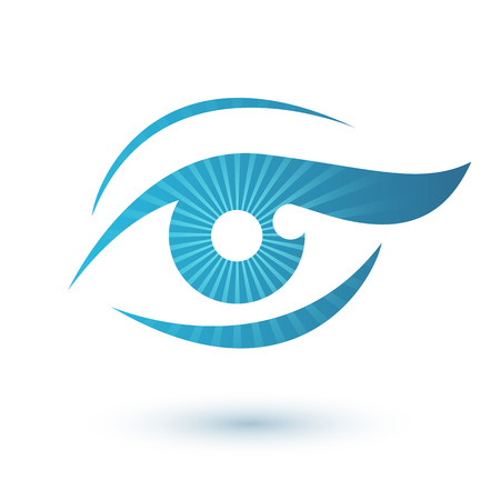 vision business: Woman eye icon beauty symbol. Vision icon.