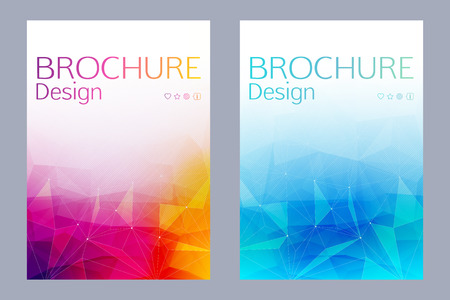 Cover design vector illustration - abstract. Brochure, flayer, poster, booklet, magazine concept.