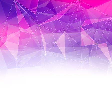 prisma: Fondo colorido de cristal abstracto. Hielo o estructura joya. Rosa y morado colores brillantes.