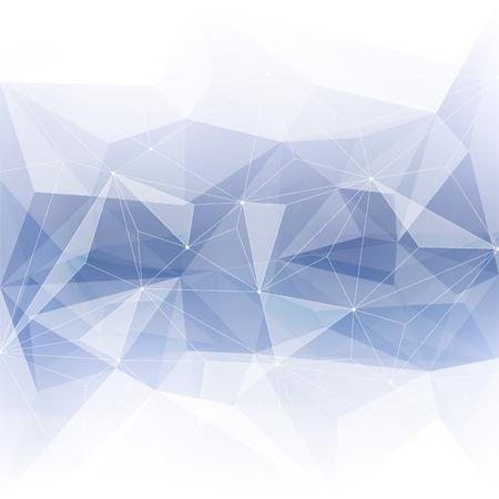 Monochrome abstracte kristallen achtergrond. Ijs of juweel structuur. Grijze kleur.