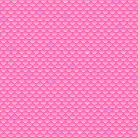 squama: Squama, fish, snake and lizard scales seamless background. Pink pattern. Illustration