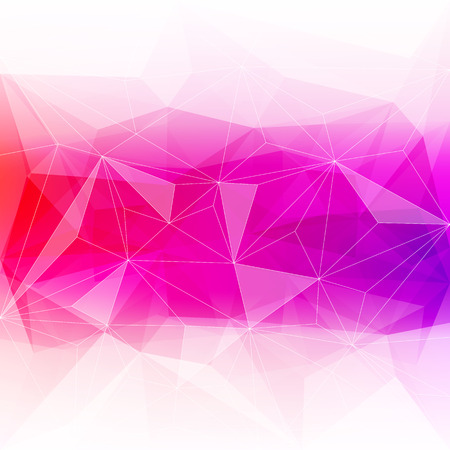 ice crystal: Colorful abstract crystal background. Ice or jewel structure. Pink and red bright colors.