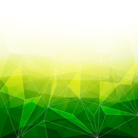 jewels: Colorful abstract crystal background. Ice or jewel structure. Green and yellow bright colors. Illustration