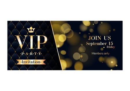VIP premium partie cartons d'invitation affiches flyers.