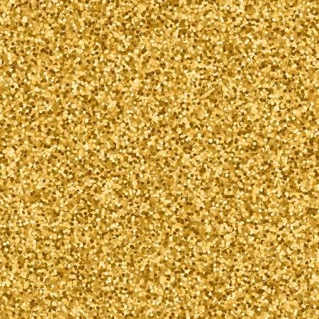 sequins: Glitter sequins golden abstract background. Vector illustration. Illustration