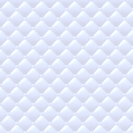 quilted: Quilted simple abstract seamless pattern. White color. Illustration