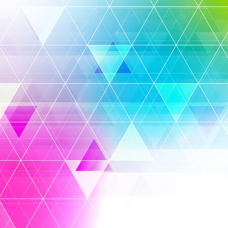 jewels: Colorful abstract crystal triangles background. Ice or jewel structure. Pink, blue and green bright colors. Illustration