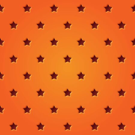 perforated: Abstract perforated stars seamless pattern illustration. Stars pattern design. Illustration