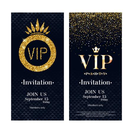 VIP invitation card premium design template. Stock Vector - 72784788