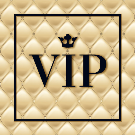 platinum: VIP abstract light color quilted background. Illustration
