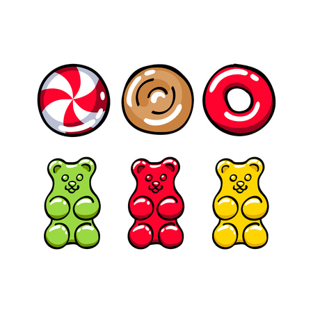166 gummy bear stock vector illustration and royalty free gummy bear rh 123rf com gummy bear clip art free yellow gummy bear clip art