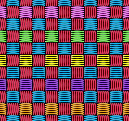 weaved: Abstract decorative weaved seamless background.