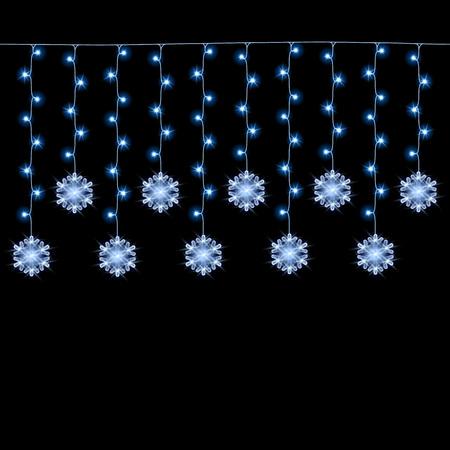 Christmas lights garland vector background. New year festive decorative illustration.