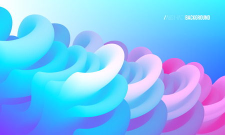 Dynamic motion abstract background. Poster, banner, presentation design template