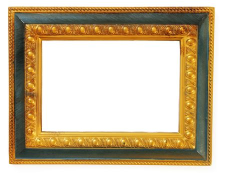 Picture gold frame photo