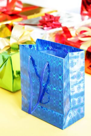 Several multi-colored gift boxes Stock Photo - 7915674