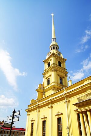 Peter and Paul Fortress. St. Petersburg, Russia photo