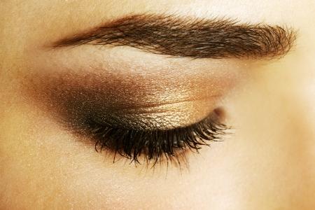 close up eye: Bellezza Trucchi occhio femminile close-up