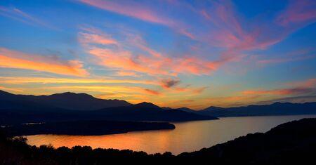 crete: Crete, Mirabello Bay. Evening