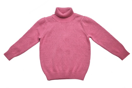 Winter knit sweater  for little girl photo